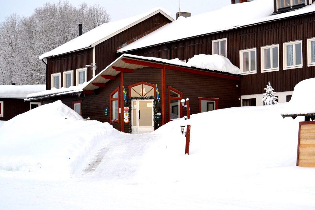 Åkersjöns Fjällhotell entré