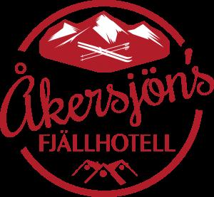 Åkersjöns Fjällhotell logo röd