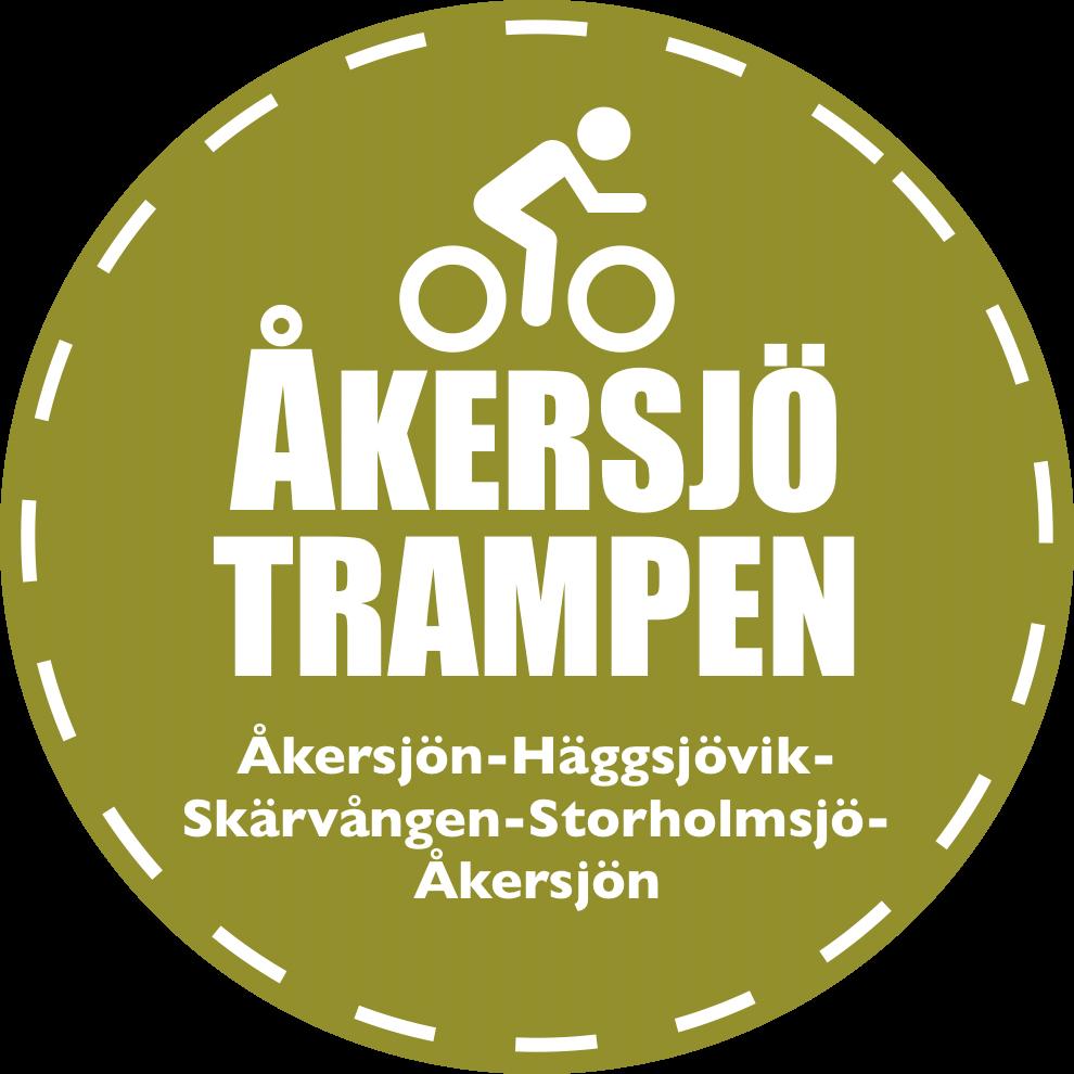 ÅkersjöTrampen logo