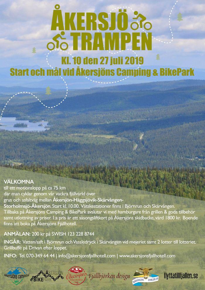 Inbjudan ÅkersjöTrampen 2019