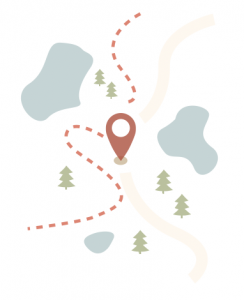 ÅkersjöTrampen karta